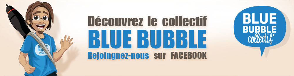 Fabio graphiste webdesigner et illustrateur membre du collectif Blue bubble