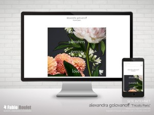 Site internet prestashop alexandragolovanoff.com