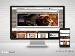 Site internet prestashop sylvi.com