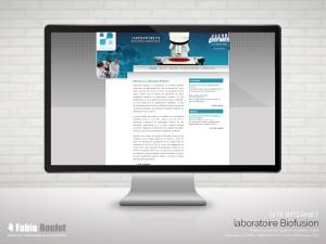 Site internet drupal des laboratoires d'analyse du 82