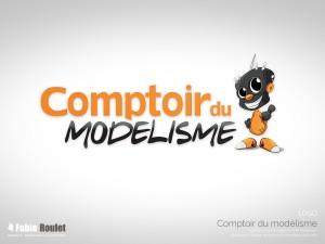 Logo pour la boutique de modélisme à Toulouse