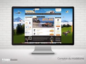 Site internet e-commerce sous Magento