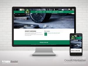 Site internet Odoo Crossfit Montauban