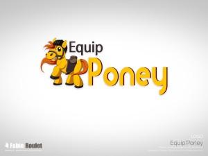 Logo pour la boutique e-commerce Equip'Poney