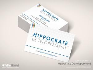 Print : carte de visite Hippocrate développement