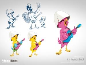 Illustration : mascotte