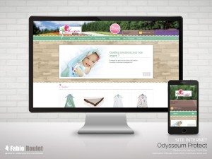 Site internet prestashop Odysseum Protect