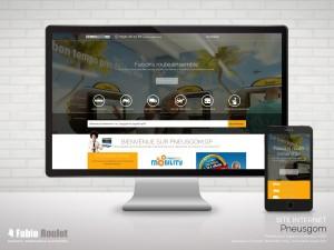 Site internet Pneusgom v3 sous Odoo