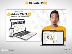 Digital marketing : encart promotionnel pour Facebook