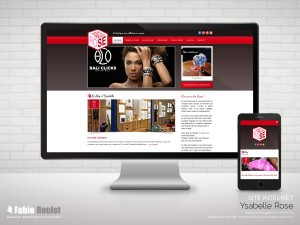Site internet responsive de la boutique situé à Toulouse 31