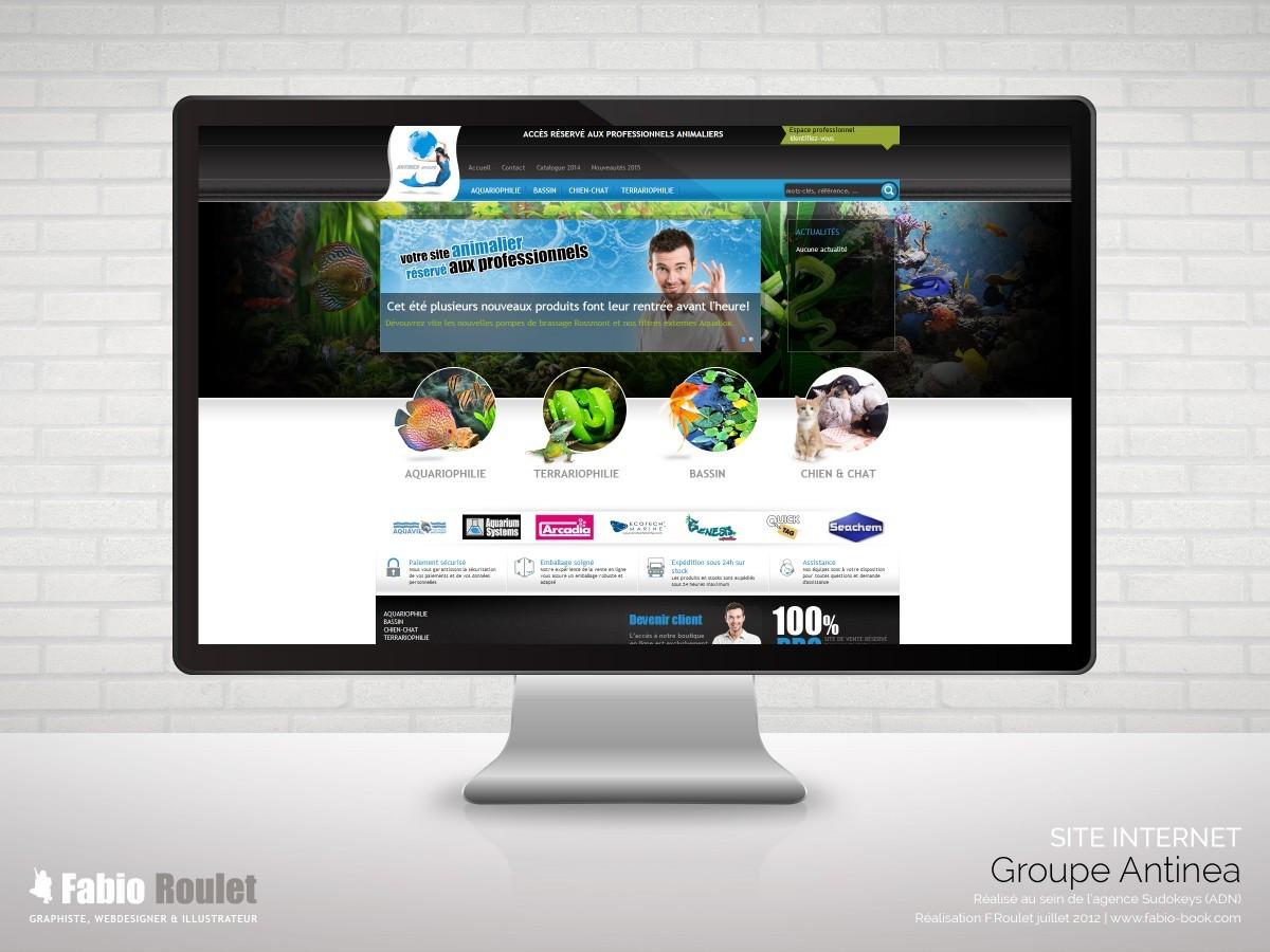 Site internet e-commerce sous prestashop