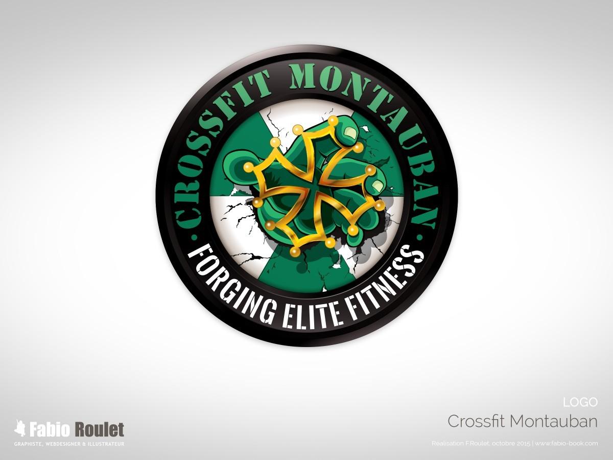 Logo de la salle de sport Crossfit Montauban