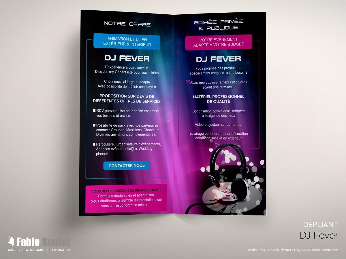dj fever graphiste freelance. Black Bedroom Furniture Sets. Home Design Ideas