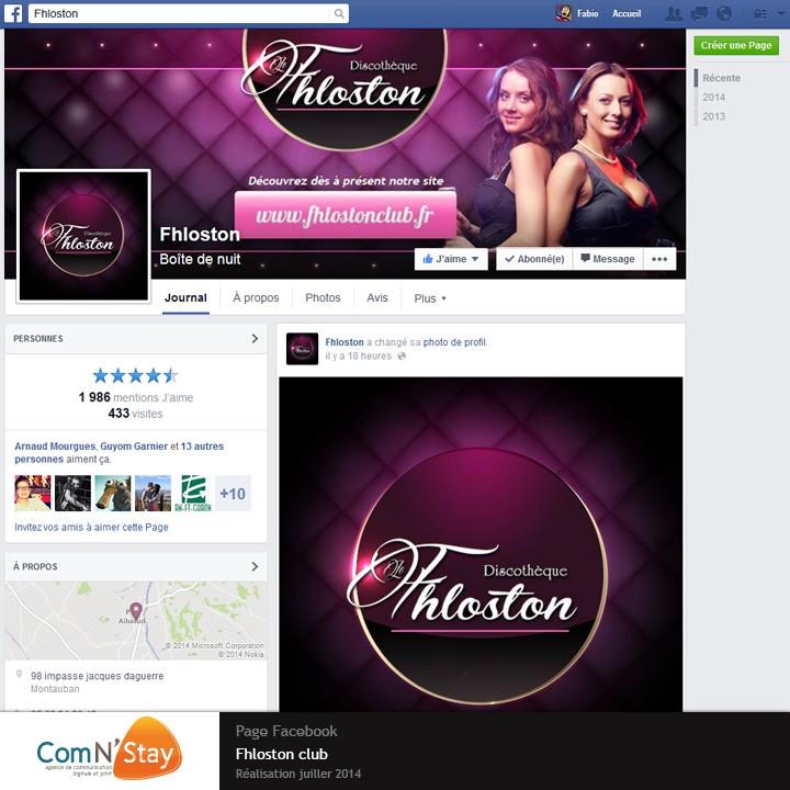 Personnalisation de la page facebbok