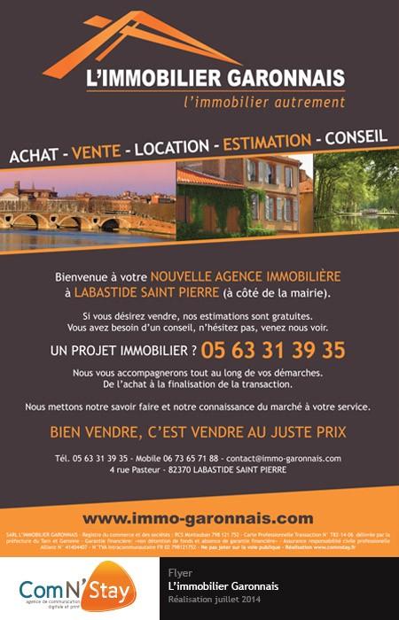 Création flyer à Montauban