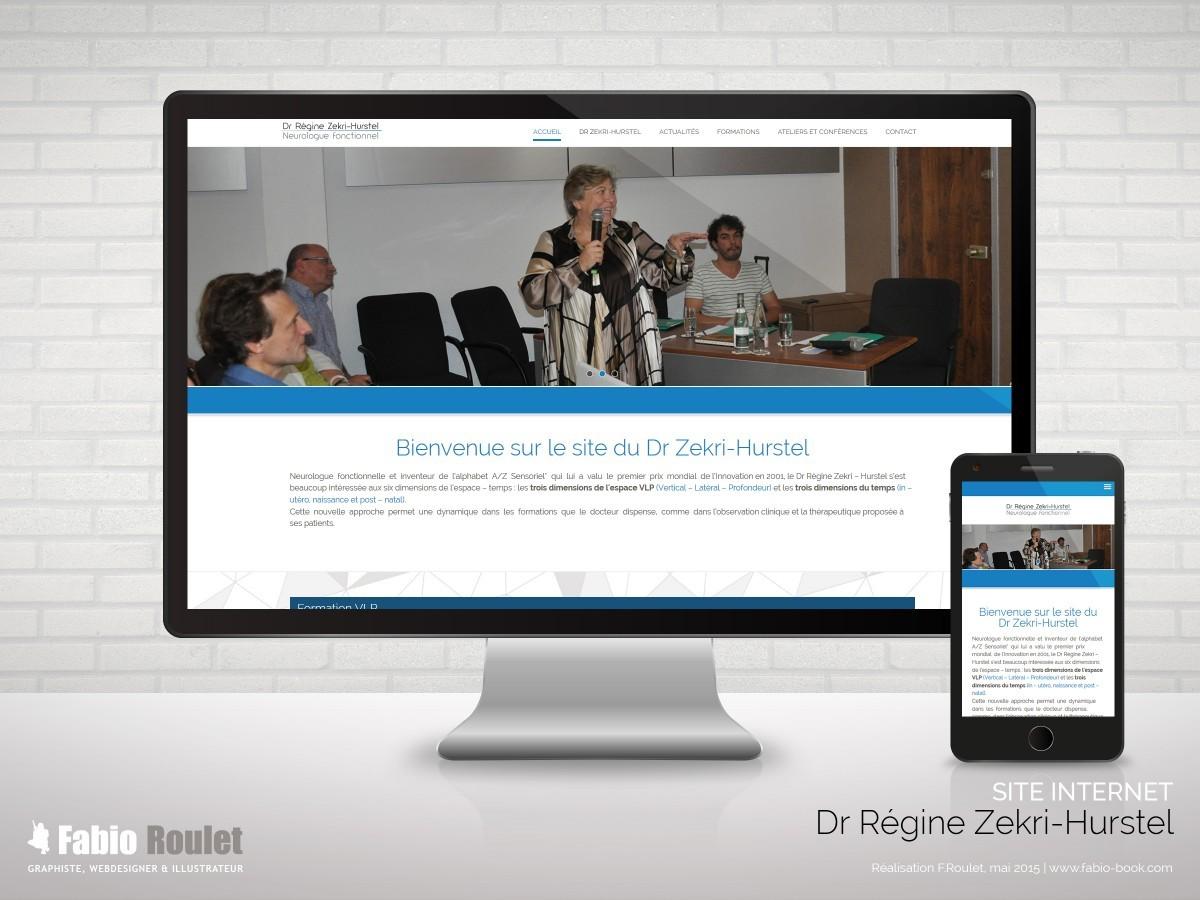 Site internet du Docteur Régine Zekri-Hurstel à Toulouse 31 - Thème Drupal
